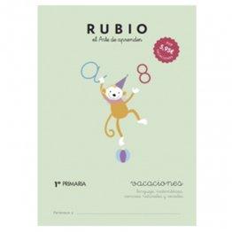 Cuadernos Rubio Vacaciones 1º Primaria