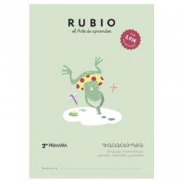 Cuadernos Rubio Vacaciones 2º Primaria