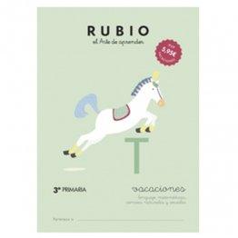 Cuadernos Rubio Vacaciones 3º Primaria