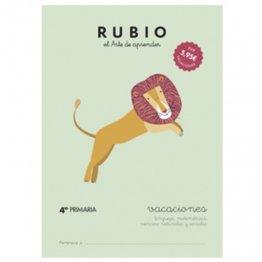 Cuadernos Rubio Vacaciones 4º Primaria