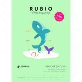 Cuadernos Rubio Vacaciones 5º Primaria