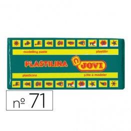 Plastilina Jovi 150gr. Verde oscuro