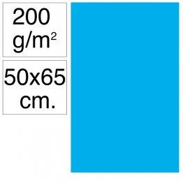 Cartulina Campus 50x65 cm 200 gr azul maldivas 25h