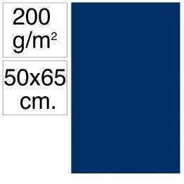 Cartulina Campus 50x65 200 gr azul ultramar 25h