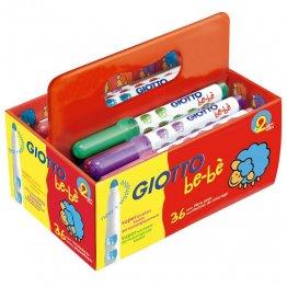 Rotulador Giotto Be-Bé Pack Escolar 36 unidades