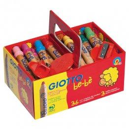 Lápices Giotto Be-Bé Super Pack Escolar 36 unidades