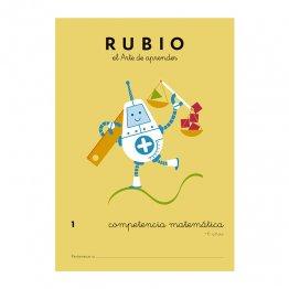 Cuadernos Rubio Competencia Matemática Nº1 - 6 años