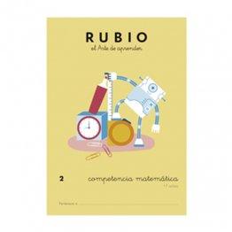 Cuadernos Rubio Competencia Matemática Nº2 - 7 años