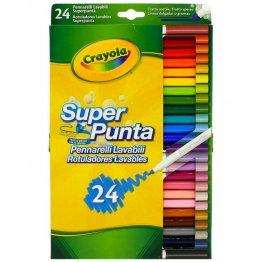Rotulador Crayola Maxi Punta 24 colores