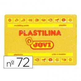 Plastilina Jovi 350gr amarillo oscuro