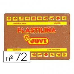 Plastilina Jovi 350gr marrón